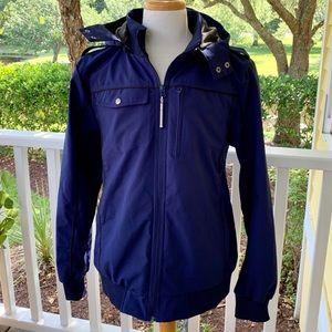 Baubax Bomber 2.0 Navy jacket. Size XL